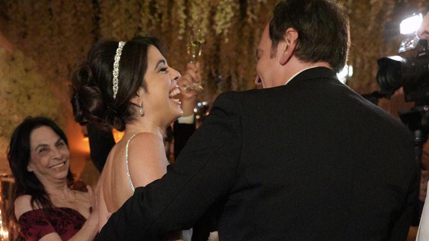 Daniella Pick und Quentin Tarantino bei ihrem Hochzeitsempfang