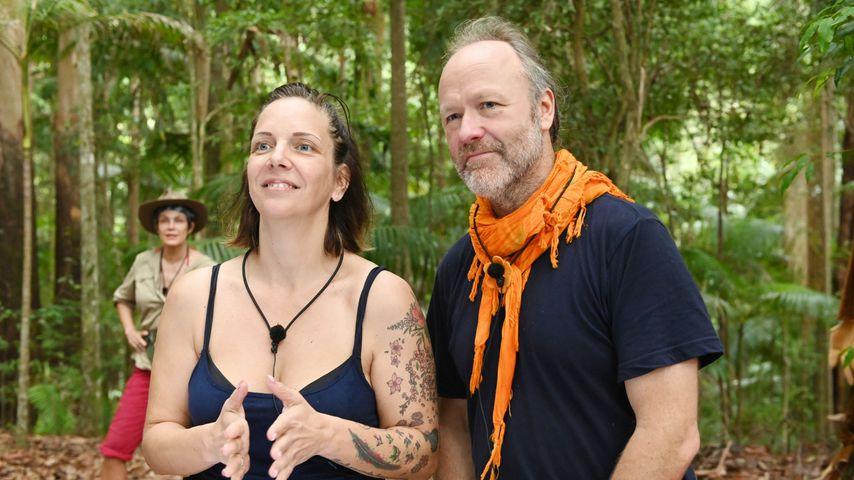 Danni Büchner und Markus Reinecke an Tag 11 im Dschungelcamp