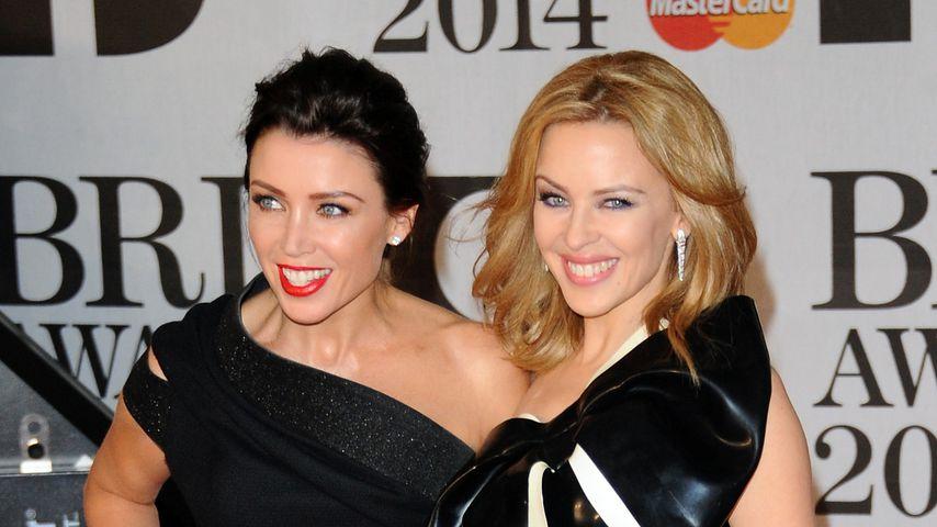 Erstmals seit 2015: Kylie Minogue mit Schwester gesichtet