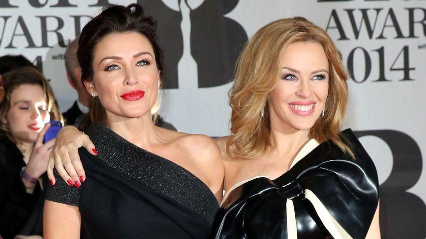 Sexy Duo! Dannii & Kylie Minogue zeigen Schulter