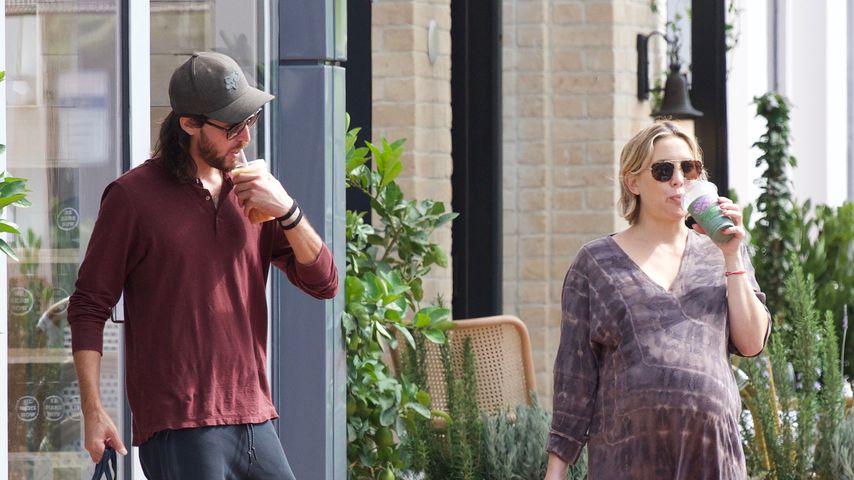 Beachtliche Kugel: Letztes Schwanger-Bild von Kate Hudson?