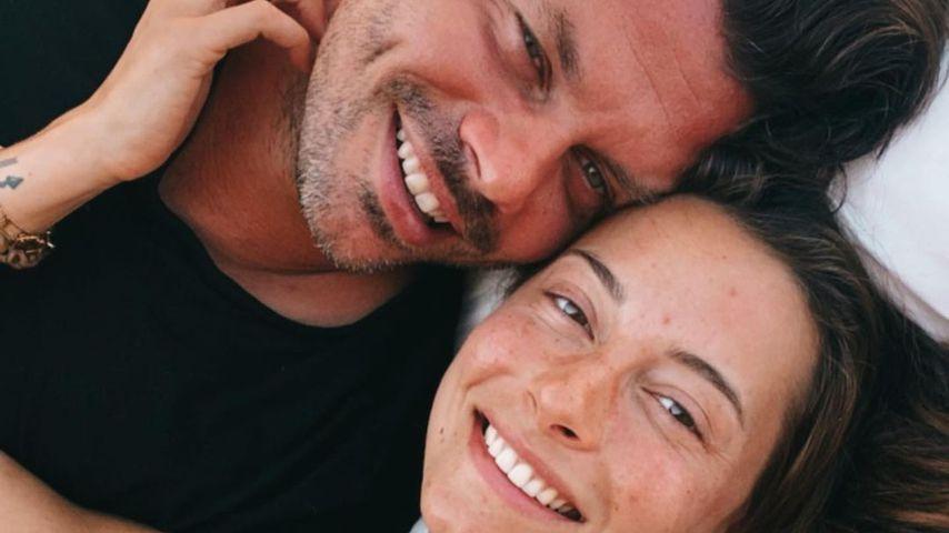 Darius Zander und Jennifer Lange im August 2021