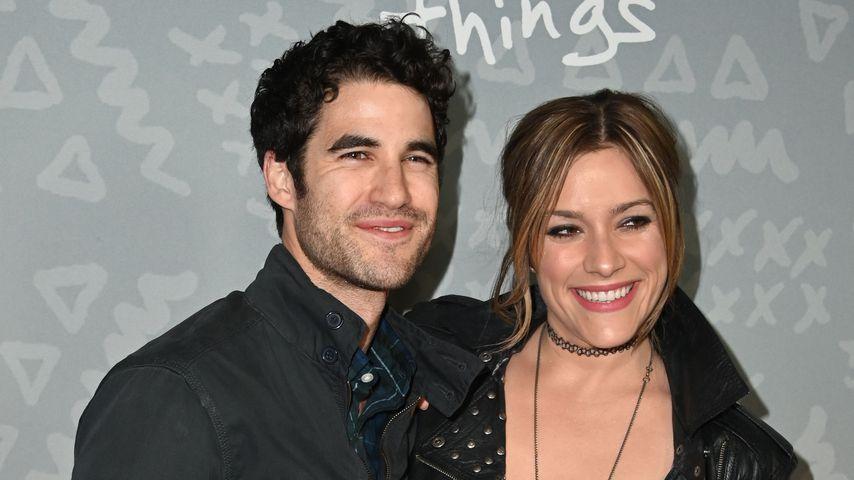 Darren Criss und seine Frau Mia