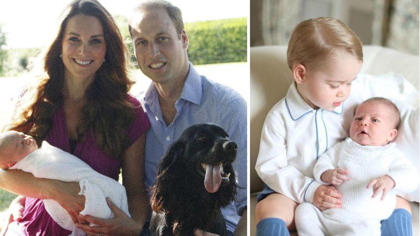 1. Bild mit Charlotte: Das war das 1. Foto von Prinz George