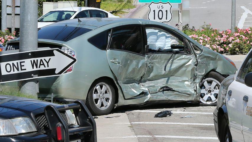 Der andere Unfallwagen bei Kris Jenners Autounfall in Calabasas
