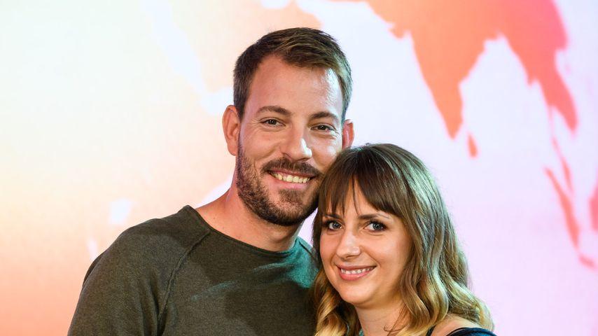"""Das """"Bauer sucht Frau""""-Paar Gerald und Anna beim RTL-Spendenmarathon 2018"""