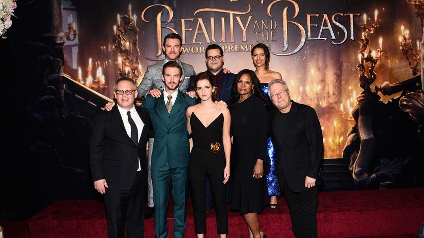 """Das Cast von """"Die Schöne und das Biest"""" in Los Angeles"""
