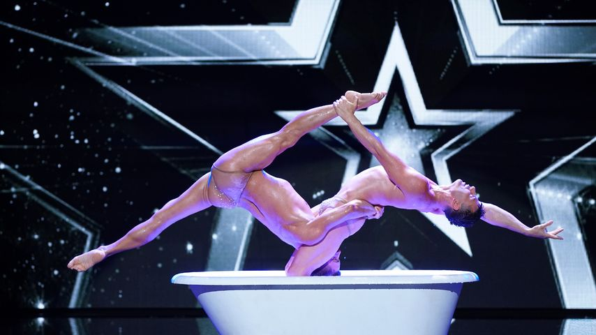 "Das Pariser Duo ""Les Farfadais"" bei ""Das Supertalent"""
