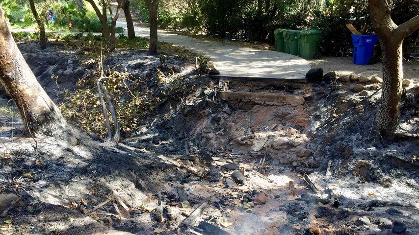 Das verbrannte Grundstück von Miley Cyrus und Liam Hemsworth