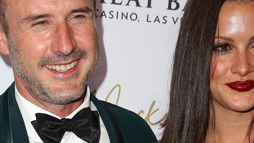 David Arquette und Christina McLarty