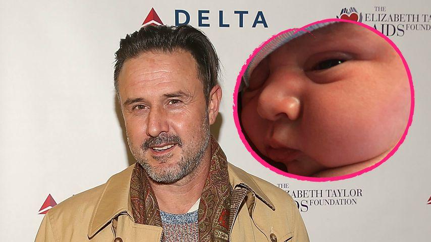 David Arquette: Das 1. Bild von Baby Augustus Alexis ist da!