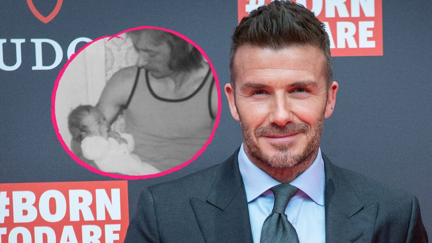 Mit Throwback: David Beckham gratuliert Vater zum Geburtstag