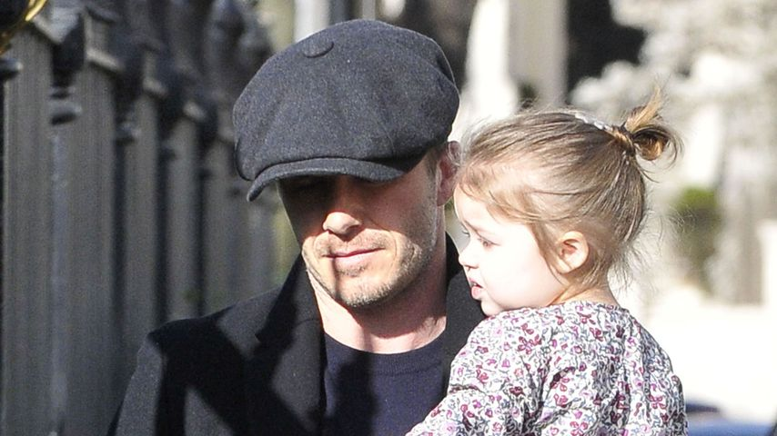 David Beckham: So kümmert er sich um seine Tochter