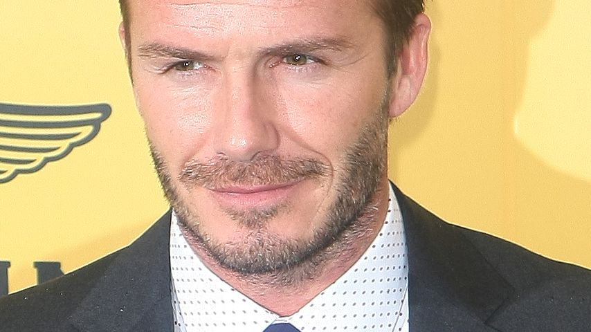 Süß! David Beckham trainiert Nachwuchs-Kicker