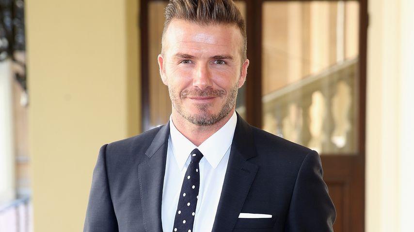 Jetzt wird er Filmstar: David Beckham bald auch im Kino!