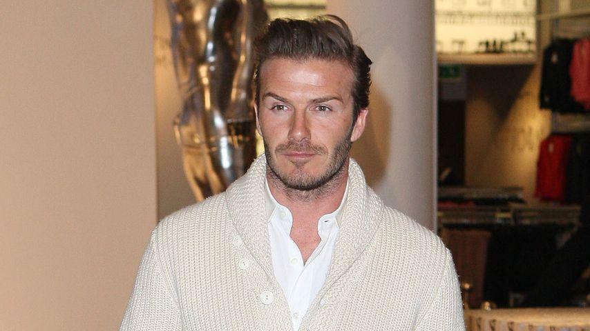 David Beckham hat seinem Opa früher Parfum geklaut