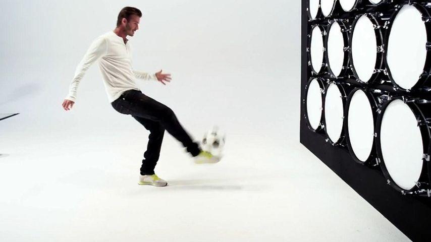 Ode an die Freude: Beckham kickt Beethoven!