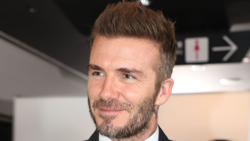 Ex-Fußballer David Beckham im November 2018