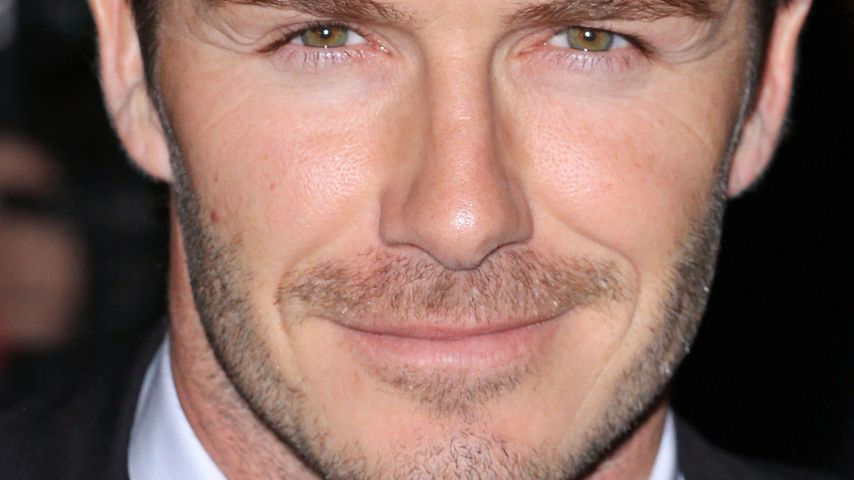David Beckham ziert als erster Mann ein Elle-Cover