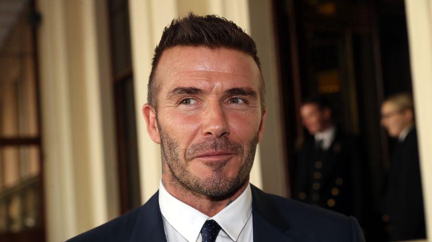 David Beckham in London, 2018