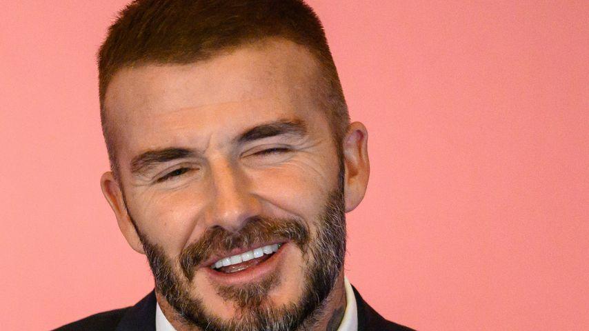 Ex-Profifußballer David Beckham im September 2018