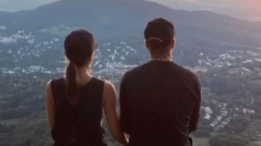 Victoria Beckham und David Beckham im Schwarzwald 2020