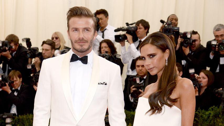 David Beckham und Victoria Beckham im Mai 2014