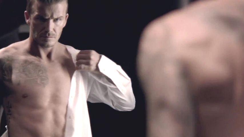 Oben ohne: David Beckham im Clip zum neuen Parfüm