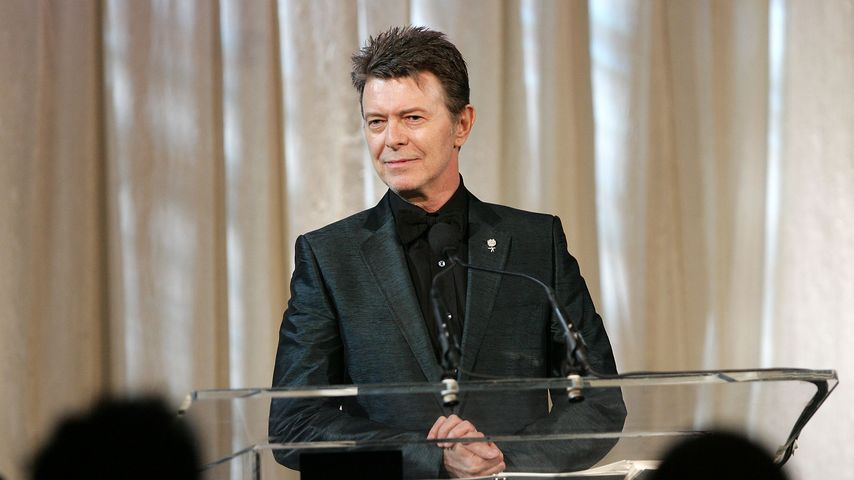 David Bowie bei den 11. Annual Webby Awards in New York City, Juni 2007