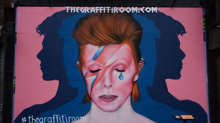 """David Bowie""-Graffiti"