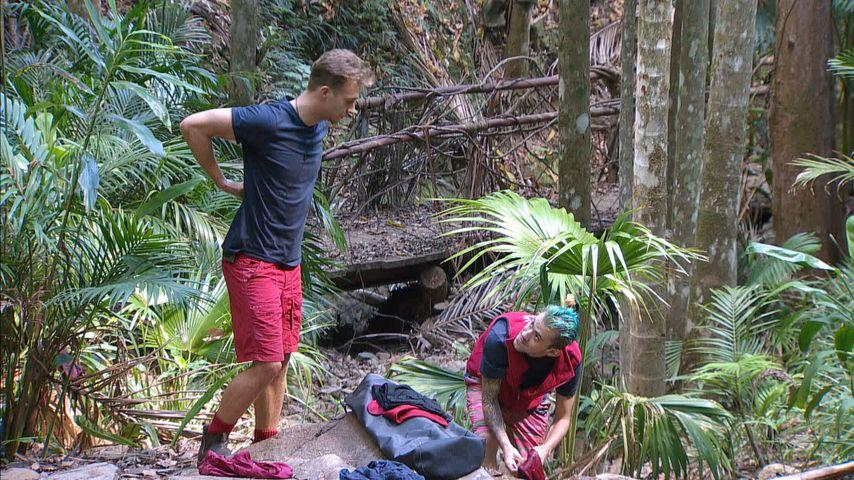 Kattia Vides  und Jenny Frankhauser im Dschungelcamp