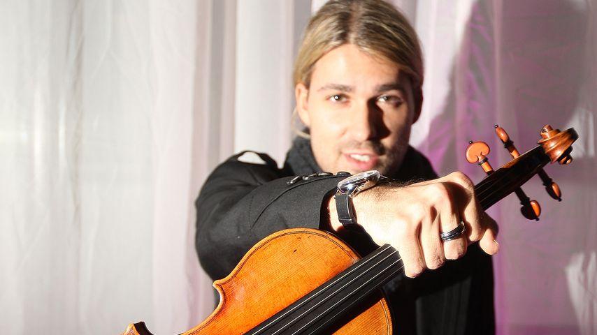 David Garrett mit seiner Geige