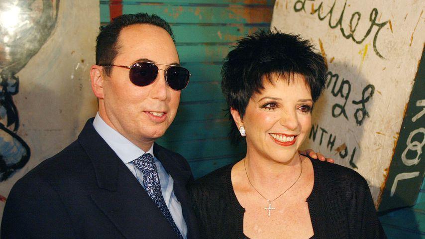 David Gest und Liza Minnelli im Juli 2002 in Hollywood
