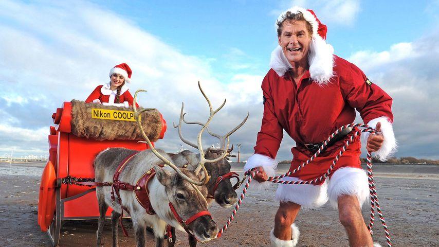 Ho, ho, Hasselhoff ist unser Santa, Baby!