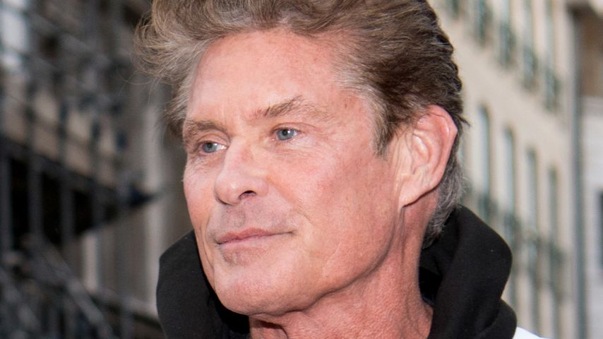 David Hasselhoff bei Gumball 3000 Rally in London