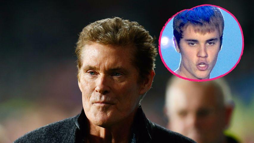 Nach Attacke auf Fan: David Hasselhoff verteidigt den Bieber