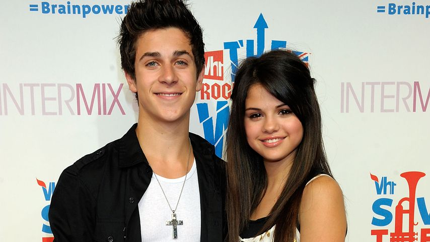 "David Henrie und Selena Gomez bei der ""VH1 Rock Honors""-VIP-Party 2008"