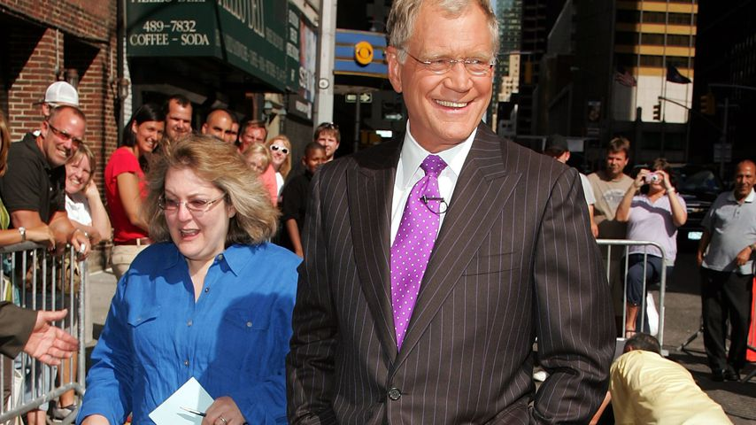 David Letterman in New York City im Juli 2007