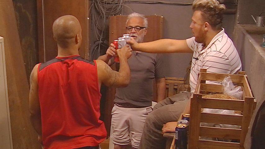 "Menowin Fröhlich, David Odonkor und Nino de Angelo im ""Promi Big Brother""-Haus 2015"