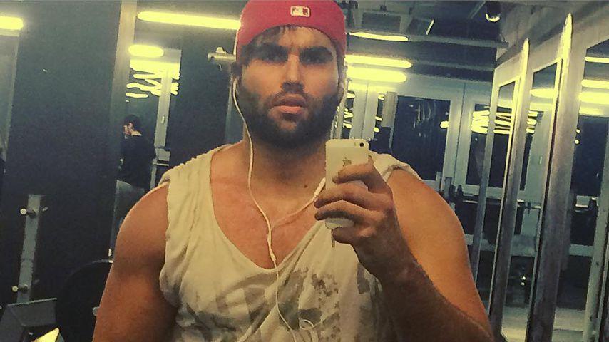 Karriere als Bodybuilder? David Ortega stählt seine Muskeln