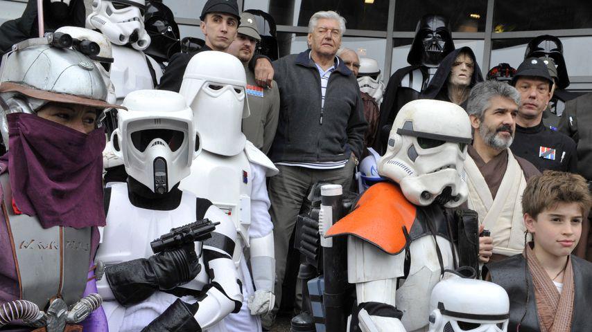"""David Prowse auf einer """"Star Wars""""-Convention im April 2013"""