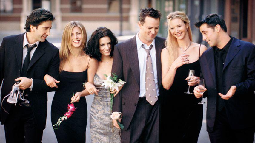 David Schwimmer, Jennifer Aniston, Courteney Cox, Lisa Kudrow und Matt LeBlanc