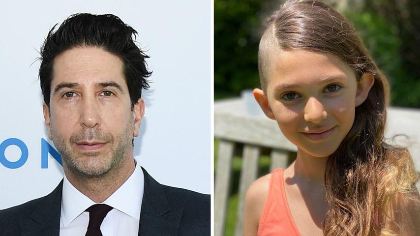 David Schwimmers Tochter (9) lässt sich die Haare abrasieren