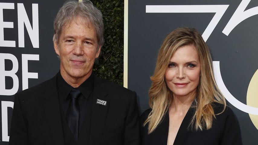 David E. Kelley und Michelle Pfeiffer bei den Golden Globes 2018