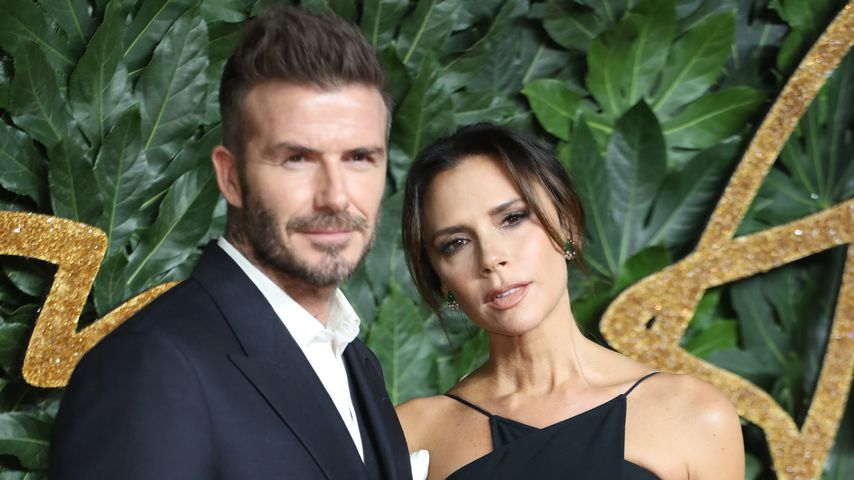 David und Victoria Beckham bei den British Fashion Awards 2018