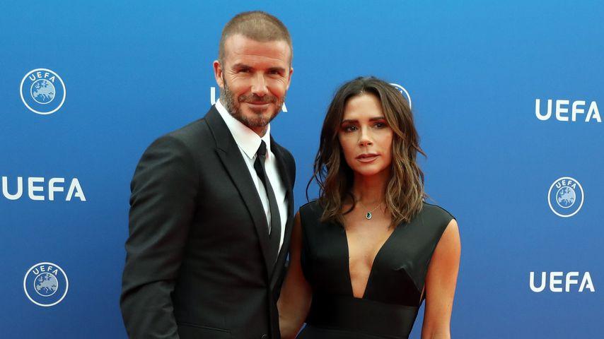David und Victoria Beckham in Monaco