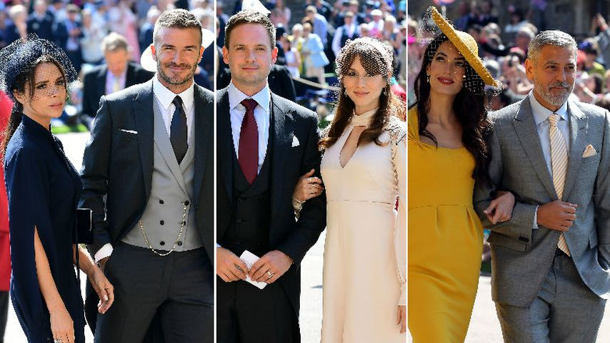 Bei Royal-Wedding: DAS waren eure Top drei Glamour-Paare!