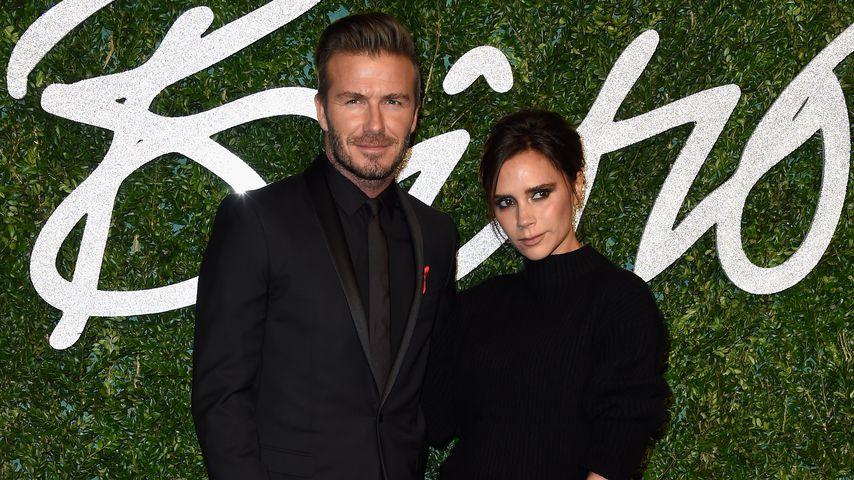 David und Victoria Beckham im Jahr 2014