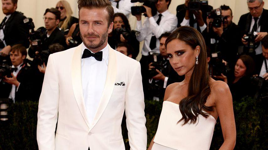 Das Ehepaar David und Victoria Beckham in New York