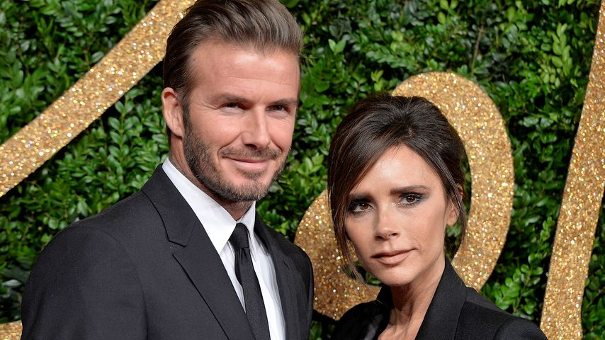 David und Victoria Beckham bei den British Fashion Awards 2015